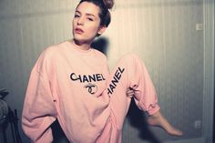 chanel tracksuit
