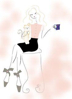 ballet flats #fashionillustration