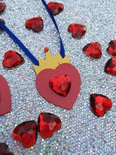 10 Disney Descendants Inspired Evie Crown Heart by BannersAndStuff