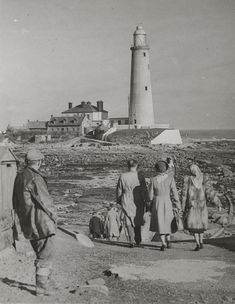 A photograph of St Mary's Lighthouse, Whitley Bay, Northumberland, taken in Asian History, British History, Tudor History, Local History, Family History, Durham County, North Shields, Strange History, History Facts