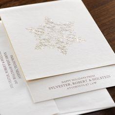 Splendor Corporate Holiday Card by Checkerboard Ltd.
