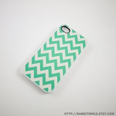 Mint Chevron IPhone Case! when i get a phone i want this case!