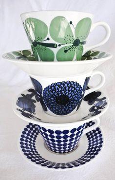 "Favorite  Like this item?    Add it to your favorites to revisit it later.  Stig Lindberg, Gustavsberg, Sweden, ""VERDI"""