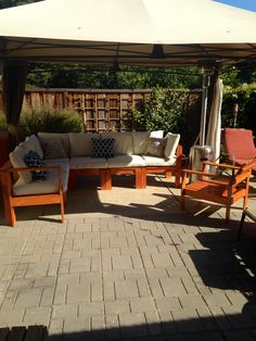 Ana White | Build a Simple Modern Outdoor Sectional Armless Section | Free and Easy DIY Project and Furniture Plans | canapele terasa | Pinterest | Easy diy ... : ana white patio sectional - Sectionals, Sofas & Couches
