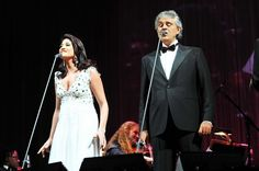 Nianell and Andrea Bocelli