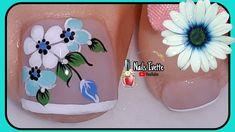 Pretty Toe Nails, Pretty Toes, Love Nails, Finger Nail Art, Toe Nail Art, Bling Nails, Manicure And Pedicure, Christmas Nails, Nail Colors