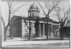 Old State House, Springfield, Sangamon Co, IL c. 1898 Photographer unknown.