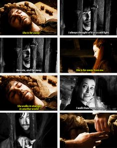 "(gif set) ""Do you think she could have loved me?"" [I may have a new favorite Middle Earth couple...]"