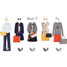 Mod Work Capsule Wardrobe: 7
