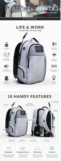 10 Of The Most Unique & Unusual Backpacks Your Creative Eyes Will Ever See - [http://theendearingdesigner.com/10-unique-funniest-backpacks-will-boggle-creative-eyes/] #travelgadgets