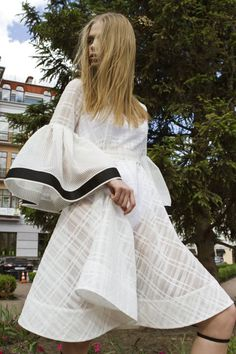 Anna K #VogueRussia #resort #springsummer2018 #AnnaK #VogueCollections