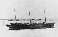 "The Imperial Royal yacht,the Standart. ""AL"""