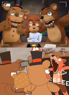 Foxy has to make every thing not fun