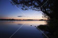 Blue Lake - Wall Mural & Photo Wallpaper - Photowall