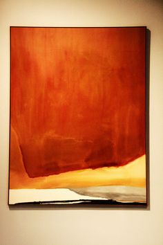 Sunset Corner (Helen Frankenthaler, 1969)