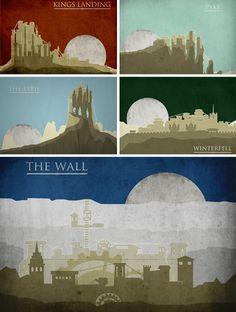 21 Retro Travel Posters Feature Fantasy & Sci-Fi Destinations (Page 2) | WebUrbanist