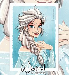 Elsa by Wistful Art