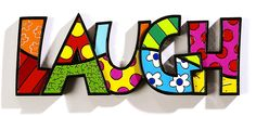 Romero Britto Word Decor LAUGH by Giftcraft *** Visit the image link more details. (This is an affiliate link and I receive a commission for the sales)