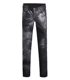 Foil Wash Skinny Jeans by Helmut Lang  #Matchesfashion