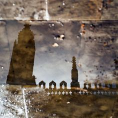 King's College Chapel reflection by Bearseye, via Flickr