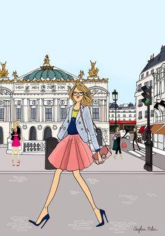 Angeline Melin    L'opéra Garnier