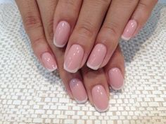 Manicure like this - pink a little less dark