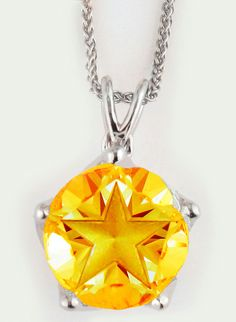 Created as a symbol to our Gold Star Families that their loved ones will not be forgotten, this hand cut 10 mm brilliant Citrine gem radiates the United Grace trademark triple star cut. Every stone is cut to optical perfection by our artisans reflecting the perfect light and brilliance. Citrine is exquisitely set in United Grace eternal patented setting. Complete with the highest quality stainless steel chain. Star Family, Stainless Steel Chain, Gold Stars, Artisan, Gems, The Unit, Current News, Pendant, Capricorn