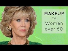 MakeUp for Older Women: Define Your Eyes and Lips - YouTube