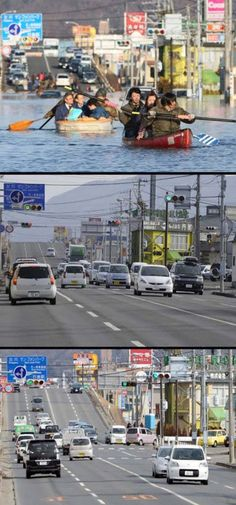 Japan Tsunami Two Years On Before and After Pictures