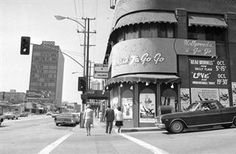 WEST HOLLYWOOD:  The Whiskey a Go-Go, ca. early 1970's, Sunset Boulevard, West Hollywood, CA  90069.  WhatWasThere   Explore Photos