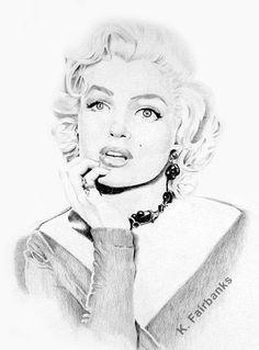 Drawing Marilyn Monroe !