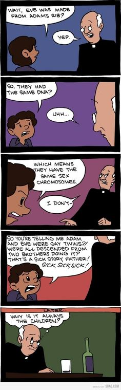 Catholic meme . Adam and Eve