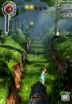 To promote the release of their new movie Brave, Disney looked for help from Imagi Studios, the creators of the Temple Run game which is a big hit among Apple users, and the team developed the new version of the game: Temple Run – Brave. The game mechanics will be basically the same, but the setting has been changed to resemble scenes of the movie. Unlike the original app which is free, the new version will cost 99 cents.