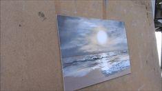 Pastel Landscape painting demonstration, by Nathalie Jaguin