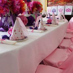 How to throw a Princess Tea Party or Birthday Party.  So cute for a little girl! :)