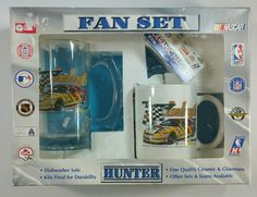 Terry LaBonte Racing Fan Set Hunter Glass Beer Mug Ceramic Coffee Cup & Magnet #HunterMFG