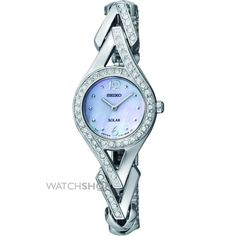 Ladies Seiko Solar Powered Watch SUP173P9