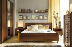 rustikální luxusní ložnice Alevil třešeň medi