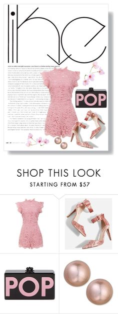 """""""Blooming like Sakura"""" by nova5ta5ia ❤ liked on Polyvore featuring BB Dakota, Topshop, Edie Parker, Belpearl, simple and contestentry"""