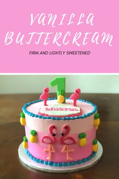 Learn the secret to creating delicious and firm buttercream that will hold up well under fondant, warm weather, and more. Buttercream Recipe, Icing Recipe, Vanilla Buttercream, Frosting Recipes, Cake Decorating Techniques, Cake Decorating Tips, Cookie Decorating, Mini Cooper Cake, Dirt Cake Recipes