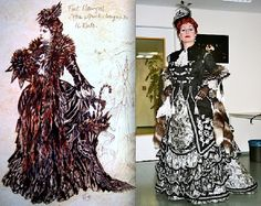 "Phantom of the Opera, Carlotta's ""Prima Donna"" dress, (Maria Bjornson)"