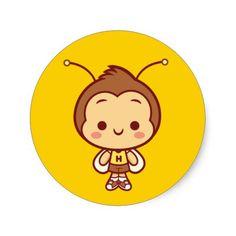 Hachi Stickers