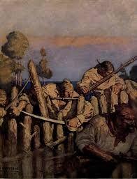 stockade treasure island - Google Search