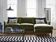 It's All About The Green Velvet Sofa | Interior Design | Buyers Guides