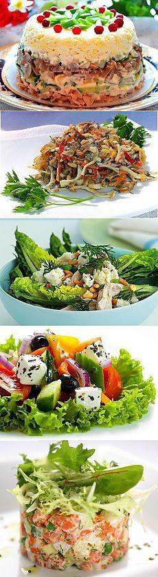 Топ - 10 самых лучших и полезных салатов