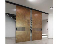 Copper leaf door panel UNIQUE ART by dekodur®