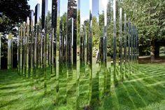 AMAZING mirror labrynth by Jeppe Hein