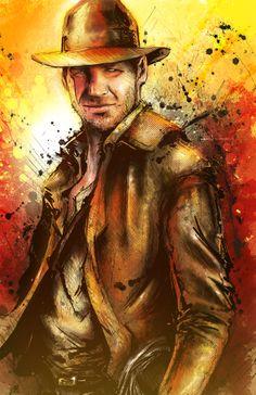 superpuppet:    Indiana Jones - by Vincent Vernacatola