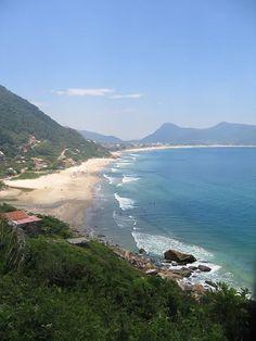 Praia da Solidão. Florianopolis, SC - Brazil