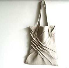 Fractional x-pleat tote $68